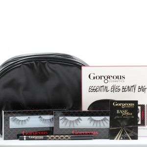 Gorgeous Cosmetics Essential Eyes Beauty Bag NEW